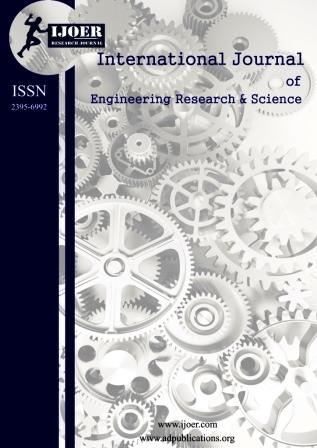 engineering journal ijoer cover Page